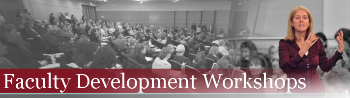 Faculty Development Workshops Banner