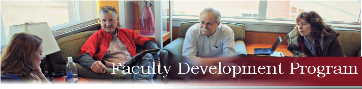 Faculty Development banner