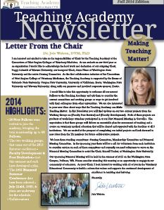 RTA Fall 2014 Newsletter