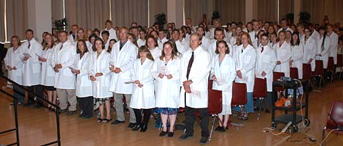 White Coat Ceremony, Class of 2007