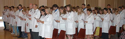 White Coat Ceremony, Class of 2008
