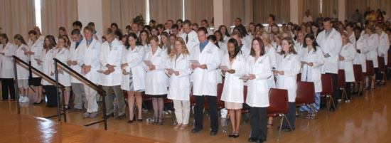White Coat Ceremony, Class of 2009