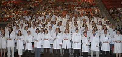 White Coat Ceremony, Class of 2010