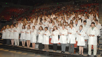 White Coat Ceremony, Class of 2012