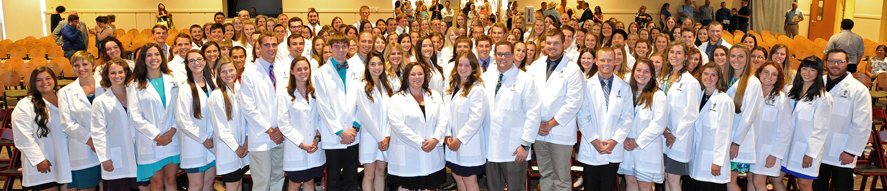 Class of 2021 White Coat Group Photo