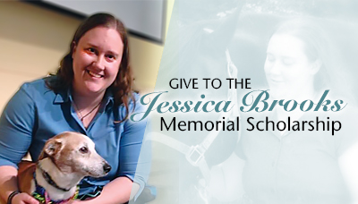 Give to the Jessica Brooks Memorial Scholarship