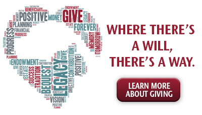 Learn about Giving to the College in your Will